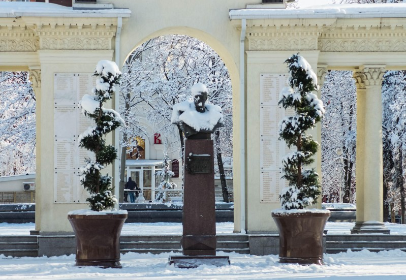 зима в краснодаре фото наиболее