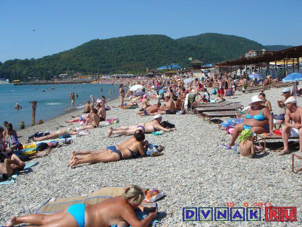 Пляж Архипо-Осиповка