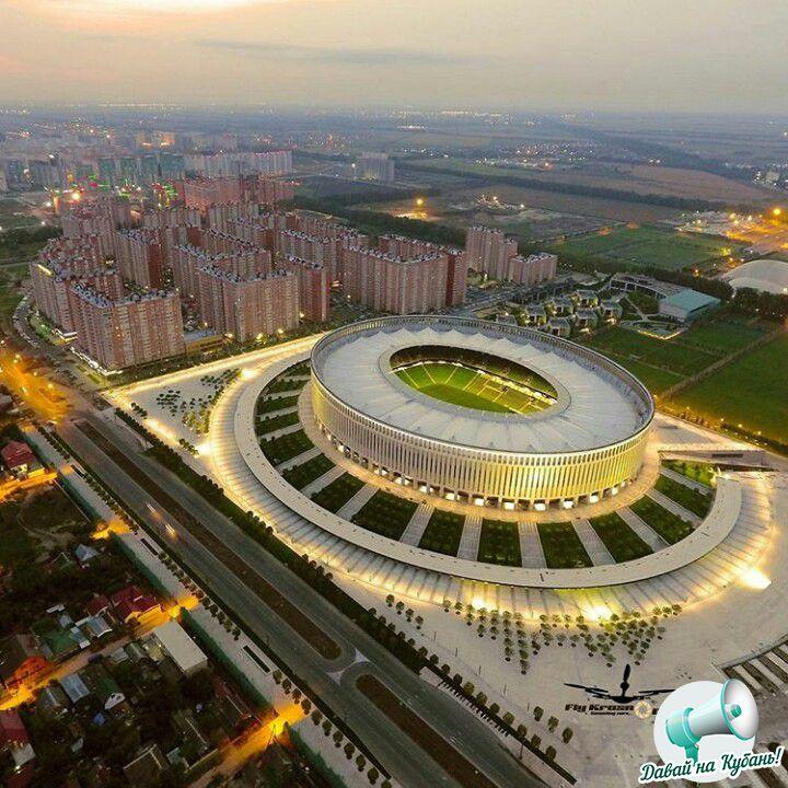 Новый стадион на Восточно-Кругликовской